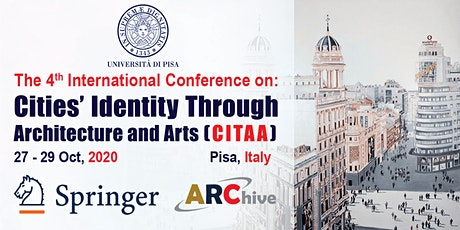 Cities' Identity Through Architecture and Arts (CITAA) – 4th Edition biglietti