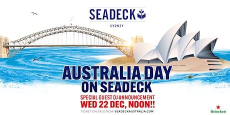 Australia Day  on Seadeck - 26th Jan 2020 tickets