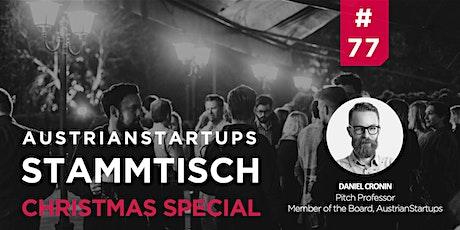 AustrianStartups Stammtisch #77: Christmas Special Tickets