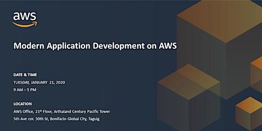Modern Application Development on AWS - JANUARY 21, 2020