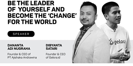 CFC Talk: Be the Leader of Yourself and Become the 'Change' for the World tickets