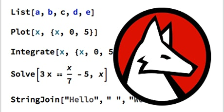 Mathematica, une Introduction tickets
