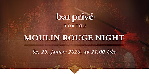 Moulin Rouge Night, TORTUE HAMBURG, bar privé