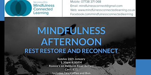 Mindfulness Afternoon - Rest, Restore and Reconnect
