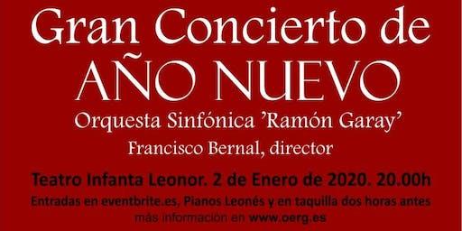 Concierto de Año Nuevo en Jaén - Orquesta Sinfónica Ramón Garay
