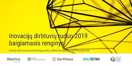 Baigiamasis Inovacijų dirbtuvių ruduo 2019 renginys tickets