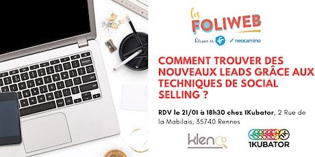 [Nantes] Comment trouver des nouveaux leads grâce aux techniques de Social Selling ? billets
