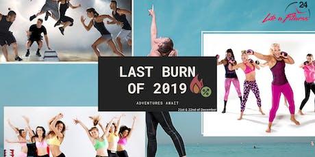 Last Burn of 2019 tickets