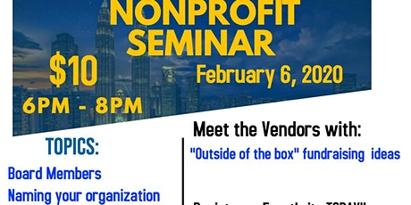 Nonprofit Seminar tickets