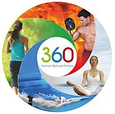 360 hnf centro fitness piscina logo