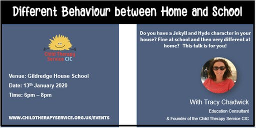 Different behaviour between school and home