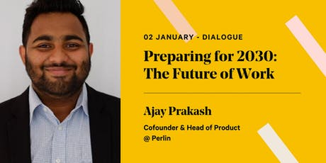 Preparing for 2030: The Future of Work tickets