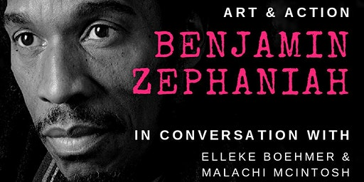 Art & Action: Benjamin Zephaniah in Conversation
