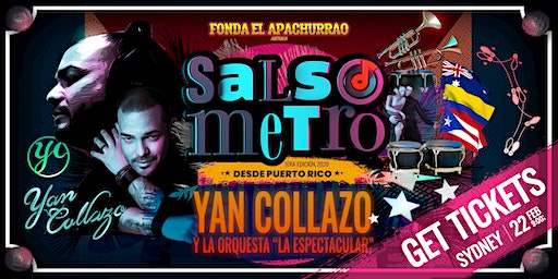 Yan Collazo live Concert - Salsometer first editio