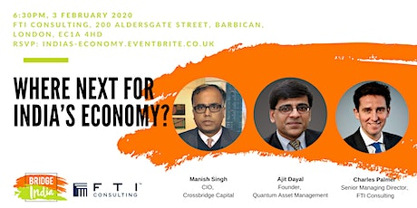 Where next for India's economy? tickets