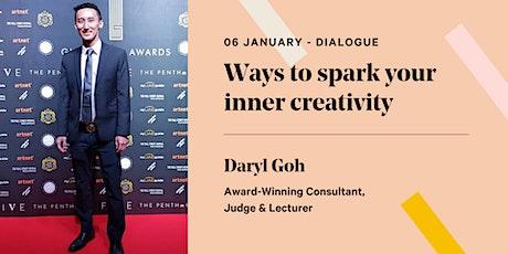 Ways to spark your inner creativity tickets