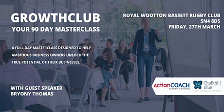 GrowthCLUB - 90 Day Planning Day tickets