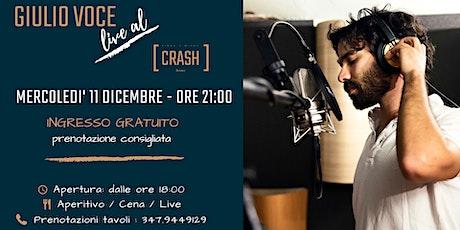 Giulio Voce live al Crash Roma biglietti
