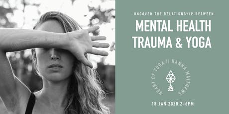 Mental Health, Eating disorders, Addiction & Yoga tickets