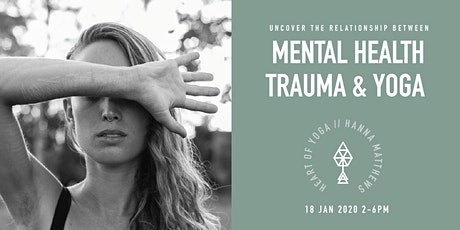 Mental Health, Eating disorders, Addiction & Yoga tickets