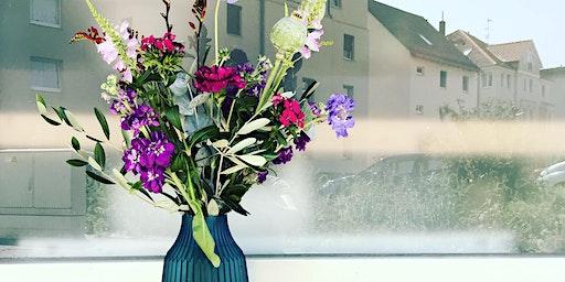 WORKSHOP: Schnittblumen & Vasenformen oder: Gebundene Blumensträuße sind nicht meins !