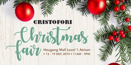 Hougang Mall Christmas Fair tickets