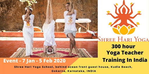300 Hour Yoga Teacher Training Courses 2020