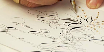 Calligraphy Workshop by MASTER PENMAN Michael Sull