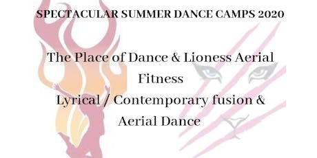 Spectacular Summer Dance Camp 2020 - Ages 17 + tickets