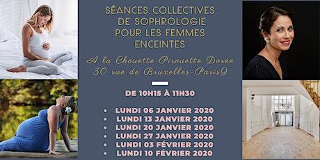 Forfait 6 séances collectives de sophrologie pour femmes enceintes- Paris 9 billets