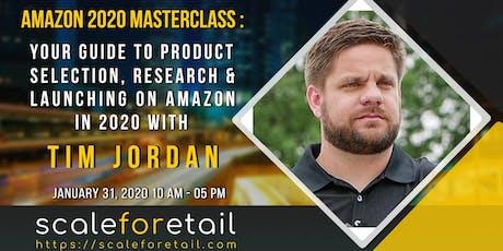 Tim Jordan - The Amazon 2020 Masterclass tickets