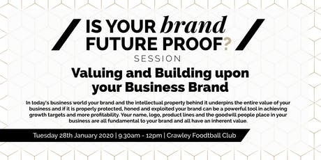 Is Your Brand Future Proof? tickets