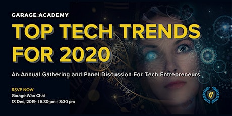 TOP TECH TREND FOR 2020 tickets