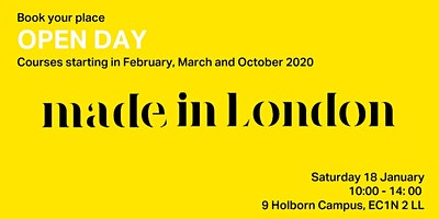 LCCA |  Open Day  | 2020 intakes