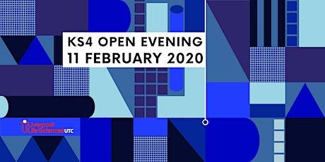 Liverpool Life Sciences UTC - KS4 open evening tickets