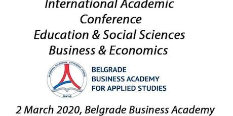 International Academic Conference Belgrade, Serbia tickets