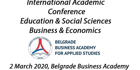 International Academic Conference Belgrade, Serbia tickets