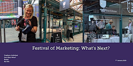 Festival of Marketing Review: What's Next? tickets