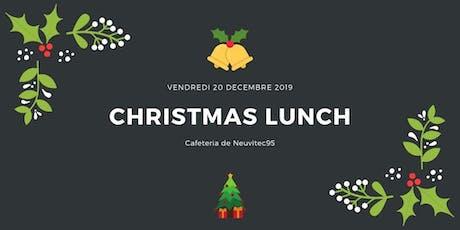 Repas de Noël billets