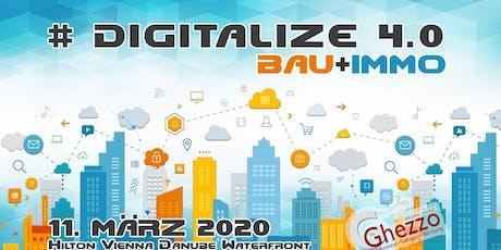 Digitalize Bau+Immo 4.0 Tickets