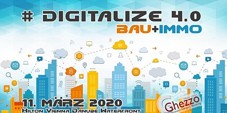 Digitalize Bau+Immo 4.0 tickets