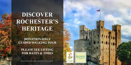 DISCOVER ROCHESTER'S HERITAGE - DONATION ONLY GUIDED WALKING TOUR tickets