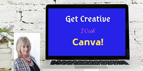 Get Creative with Canva  tickets
