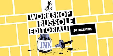 Workshop BAO - Come si vende un libro biglietti