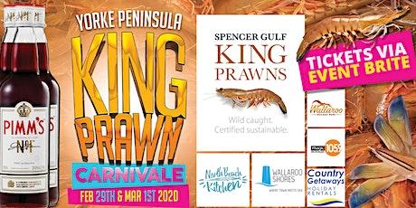 Yorke Peninsula King Prawn Carnevale tickets