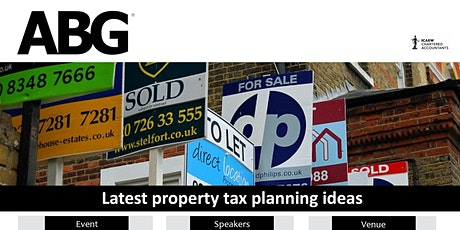 Property Tax Planning Tips tickets