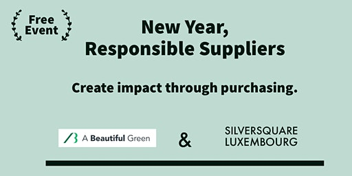 New Year, Responsible Suppliers – Create impact through purchasing.
