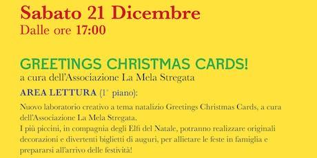 Greetings Christmas Card! @IL FORO DEI GRANAI DI NERVA biglietti