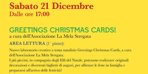 Greetings Christmas Card! @IL FORO DEI GRANAI DI NERVA