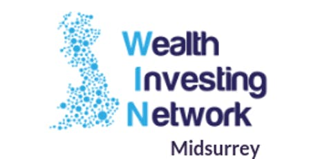 Lizbeth Grant and Luigi Del Vecchio with midsurrey Wealth Investing Network tickets